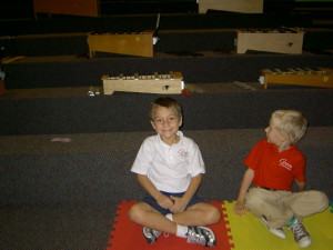 Children in Music Class in Franklin TN